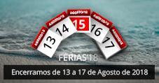 AFCAMÕES Férias Agosto 2018