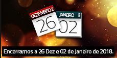AFCAMÕES fechados 6 Dezembro e 2 Janeiro 2018