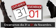 AFCAMÕES encerrados 31 e 01 Novembro