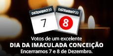 AFCAMÕES, encerramos 7 e 8 de Dezembro, feriado do dia da Imaculada Conceição