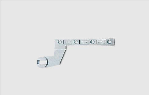 AFCAMÕES AML-1020, Braço inferior porta batente (DORMA 7411/56), para porta de madeira de ação simples (FLUSH-CLOSING).