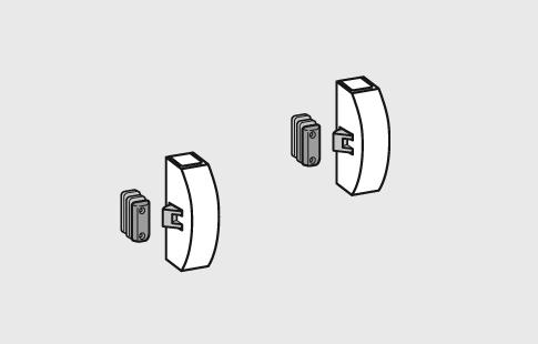 AFCAMÕES ABA-1008, testa para fechadura de barra anti-pânico.