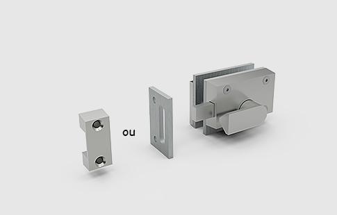 AFCAMÕES FEC-680, Fecho com indicação LIVRE / OCUPADO, para porta e parede..