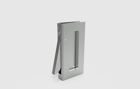 AFCAMÕES PXS-880, puxador para porta de correr com asa interior.