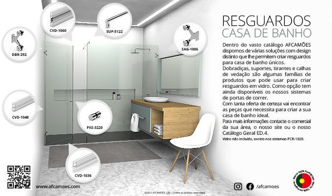AFCAMÕES resguardos casa de banho