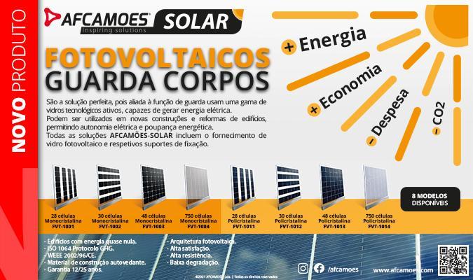 AFCAMÕES FVT - Fotovoltaico guarda corpos