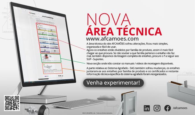Nova área técnica site afcamoes