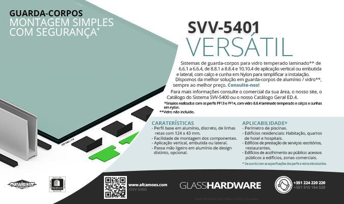 AFCAMÕES SVV-5401, versátil, simples e seguro.